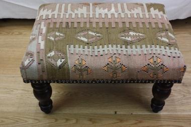 R6990 Rugstoreonline Kilim footstool