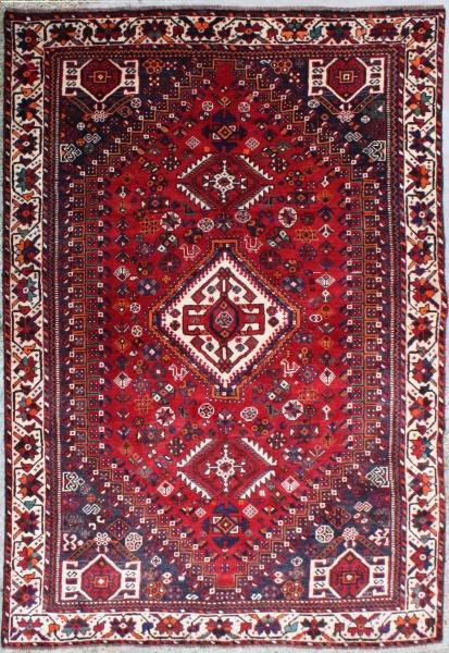 R5794 Beautiful Persian Shiraz Carpet