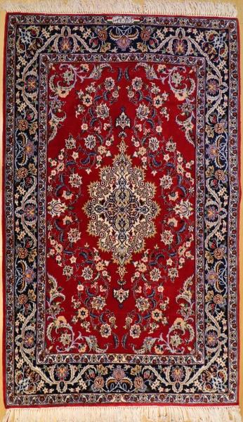 R9375 Persian Silk and Wool Isfahan Rug