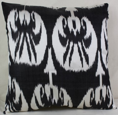 i3 Silk Ikat cushion cover