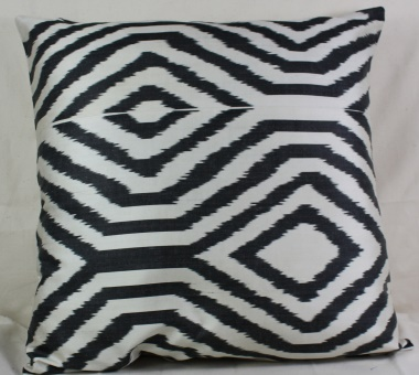 Silk Ikat Cushion Covers