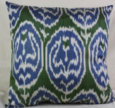Silk Ikat Cushion Covers