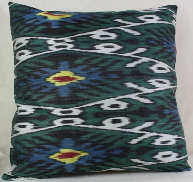 i22 Silk Ikat Cushion Covers