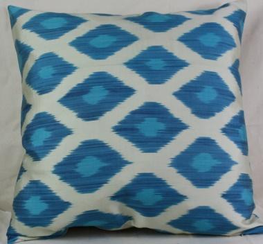 Silk Ikat Cushion Pillow Covers