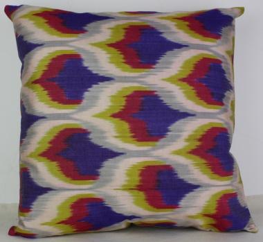 i23 Silk Ikat Cushion Pillow Covers