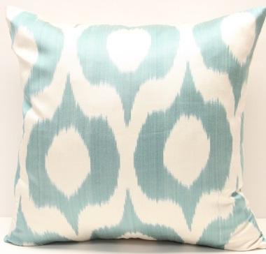 i10 Silk Ikat Pillow cover