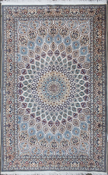 Silk Nain Carpet Persian Nain Rug Persian Carpet Rug