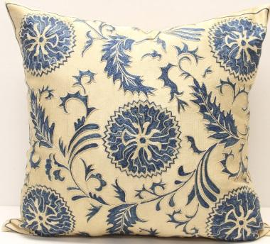C82 Silk Suzani Cushion Cover