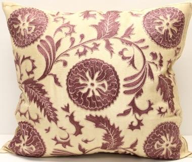 C83 Silk Suzani Cushion Cover