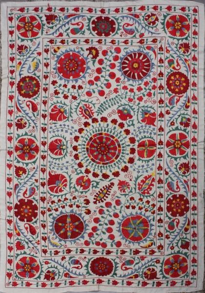 R4885 Silk Suzani Embroidery