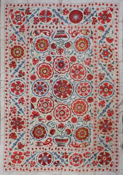 R4896 Silk Suzani Embroidery
