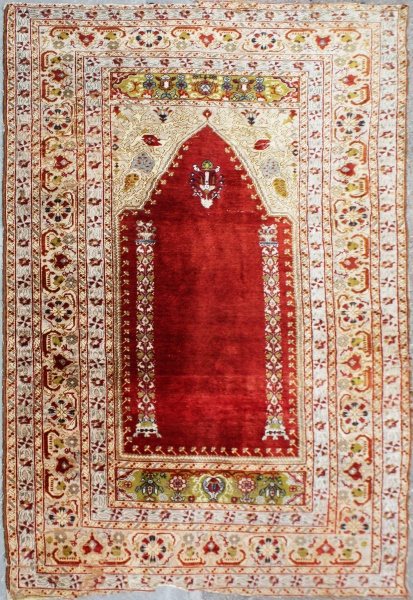 Silk Turkish Rug Persian Silk Carpet Silk Rug Rug 7067
