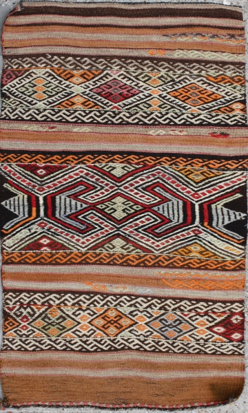 R4382 Small Turkish Kilim Rug