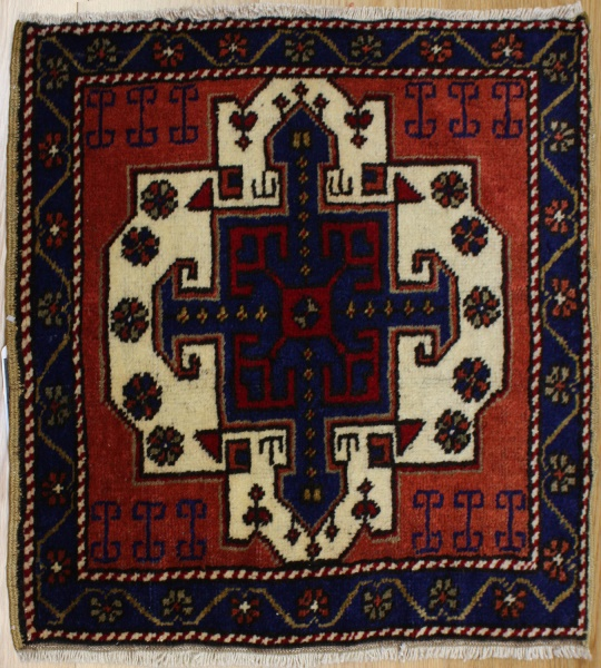 Small Turkish Rug R7222