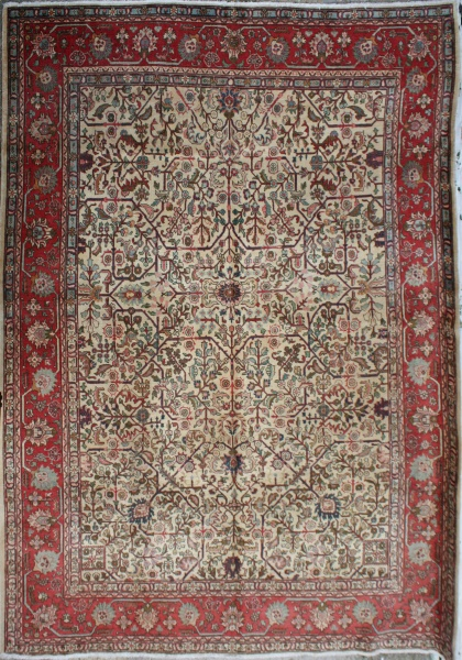 R3222 Fine Persian Tabriz Carpet