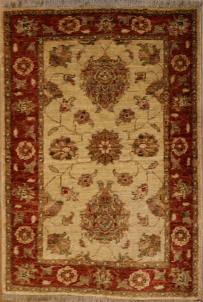 R8670 Traditional Afghan Rug