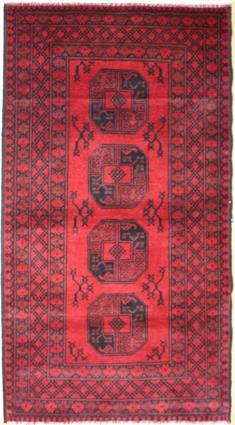 R8811 Traditional Afghan Rug