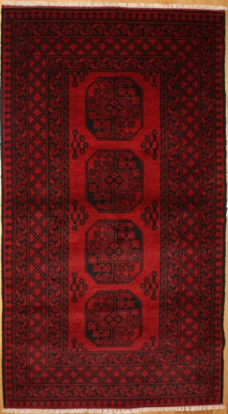 R8813 Traditional Afghan Rug