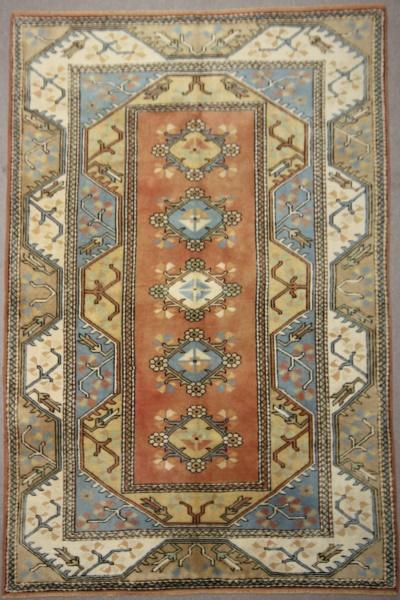 Traditional Anatolian Milas Carpet R7900