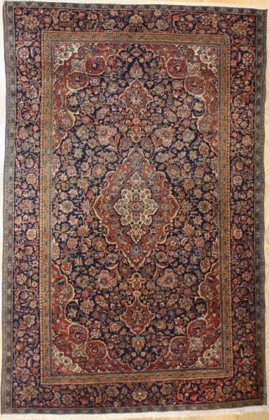 Traditional Antique Persian Kashan Carpet R7970