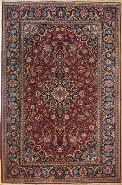 Traditional Antique Persian Kashan Carpet R7974