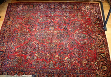 Traditional Persian Sarouk Carpet R7548