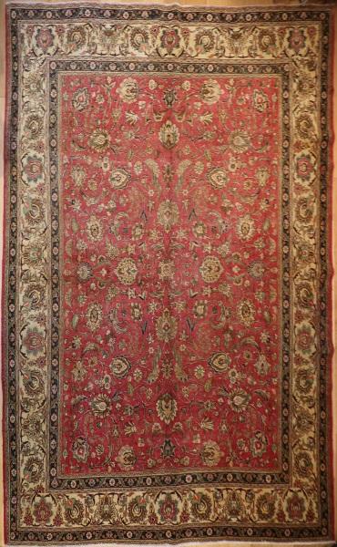 R4977 Traditional Persian Tabriz Carpet