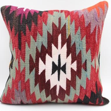 L649 Traditional Square Kilim Cushion Cover