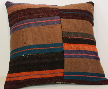 M545 Traditional Wool Kilim Cushion Cover