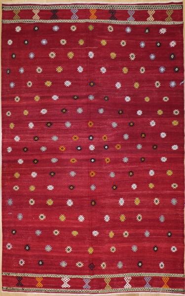 R9090 Turkish Anatolian Balikesir Cicim Rug