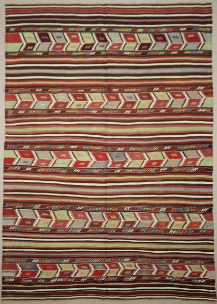 Turkish Anatolian Balikesir Cicim Rug R7867
