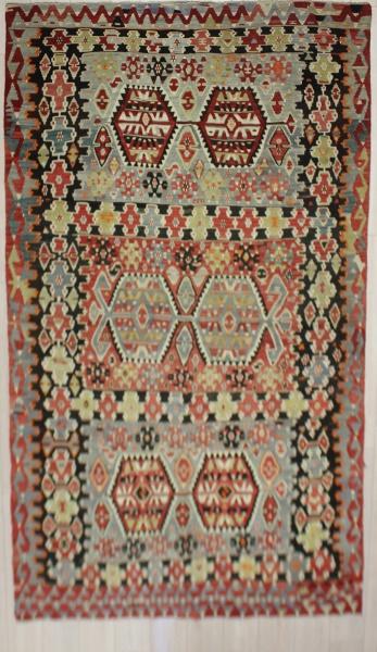 R7496 Turkish Anatolian Esme Kilim Rugs