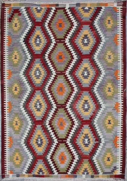R6332 Turkish Antalya Kilim Rug