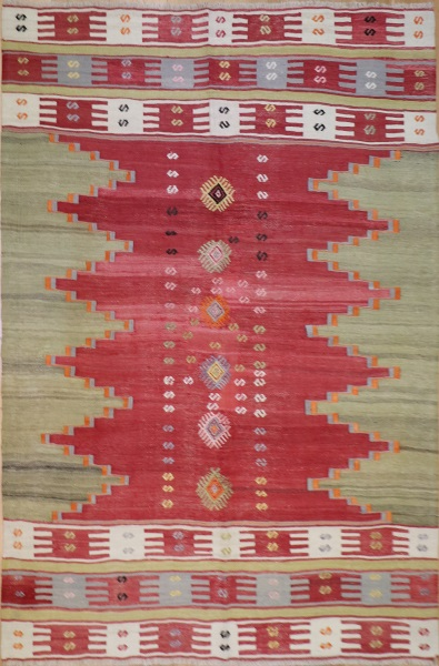 Beautiful Turkish Avonya Kilim Rugs