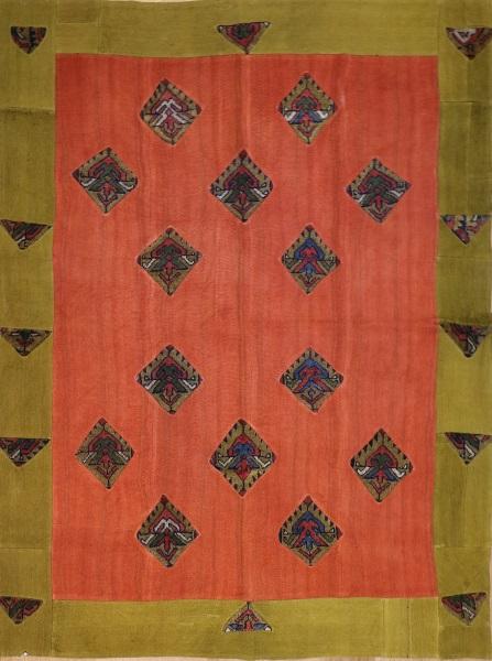 R3143 Turkish Carpet Patchwork