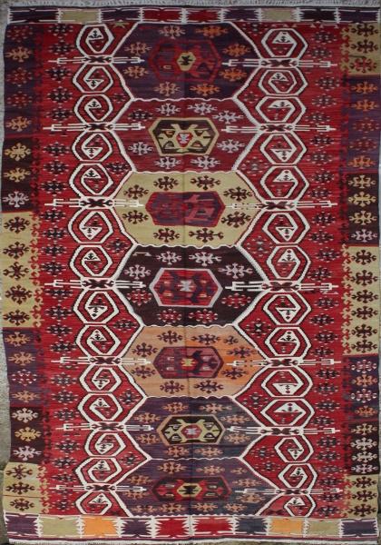 F801 Turkish Emirdag Kilim Rug