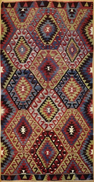 Turkish Esme Kilim Rugs Turkish Kilim Esme Kilim 92