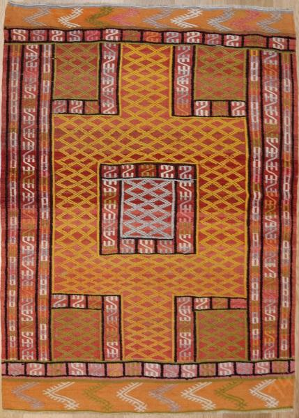 R7613 Turkish Fethiye Cicim Rug