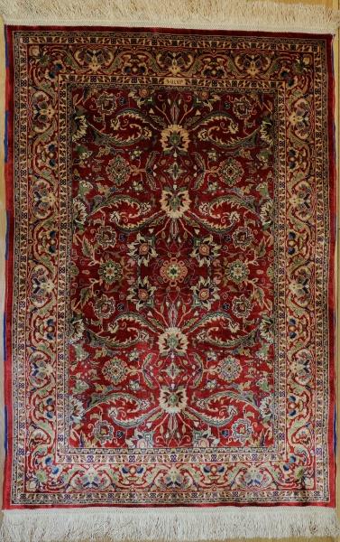 R9331 Turkish Hereke Silk Rug