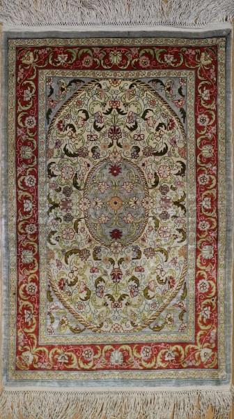 R4825 Turkish Hereke Silk Rugs