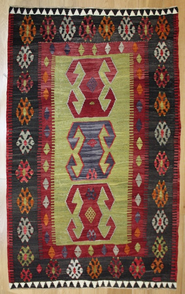 R8145 Turkish High Quality Anatolian Kilim Rug