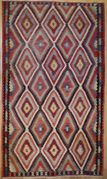 R8138 Turkish High Quality Anatolian Kilim Rugs