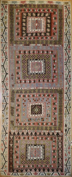 R4492 Turkish Kayseri Kilim Rug