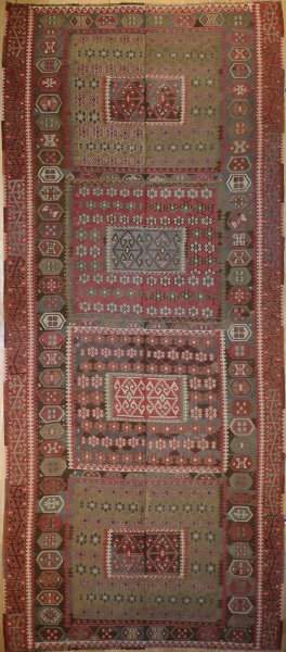 R5853 Turkish Kayseri Kilim Rug