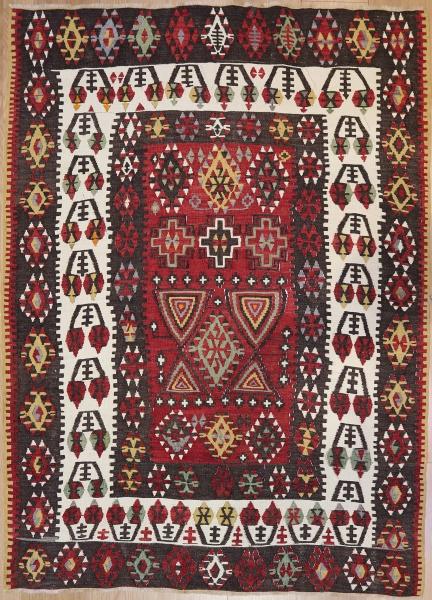 R7624 Turkish Kayseri Kilim Rugs