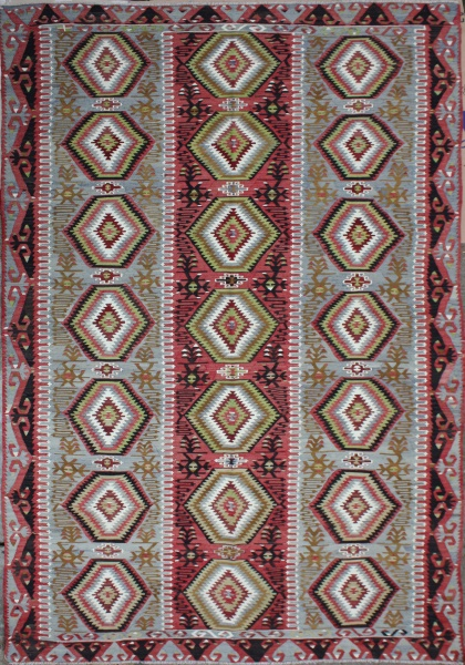F22 Antique Turkish Esme Kilim
