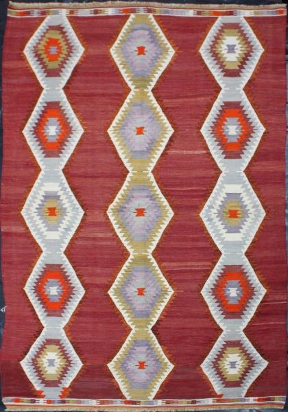 R4969 Turkish Anatolian Kilim Rug