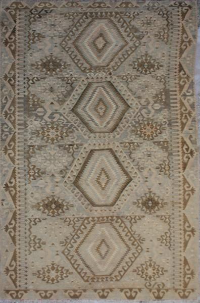 F25 Antique Anatolian Esme Kilim