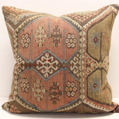 XL120 Turkish Kilim Cushion Cover