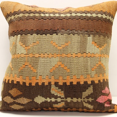L394 Turkish Kilim Cushion Cover